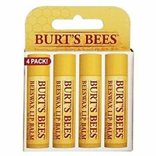 Burt's Bees Beeswax Lip Balm With Vitamin E & Peppermint 4-Pack, 2019 - 236 Day