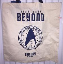 Star Trek beyond Fan Day exclusive Bag (one night event) starfleet paramount
