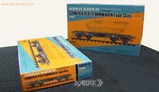 Sabre Model 1/35 35A02 GERMAN RAILWAY SCHWERER PLATTFORMWAGEN Type SSys ◆