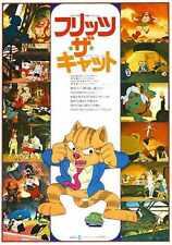 Fritz The Cat Poster 03 Metal Sign A4 12x8 Aluminium