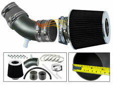BCP RW GREY For 01-04 Tribute Escape 05-08 Mariner 3.0L V6 Air Intake Kit+Filter