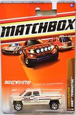 MATCHBOX 2010 CONSTRUCTION GMC TERRADYNE #50/100 WHITE W+