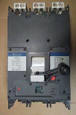 Ge Skha 3 Pole 800 Amp 600V Skha36At0800 Circuit Breaker General Electric