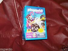 Playmobil Geobra Pirates Blackbeard with Real Shooting Cannon  5730 New in Box