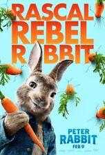 Peter Rabbit - original DS movie poster 27x40 -  2018