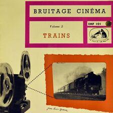 """7"""" Jean-Louis Besson BRUITAGE CINEMA Vol. 2 trains Ep La Voix de son Maître 1958"""