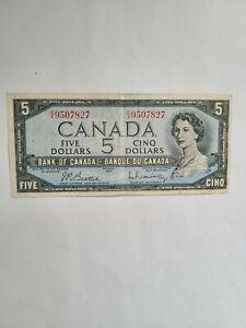 CANADA, 5 Dollars 1954, Pick # 77