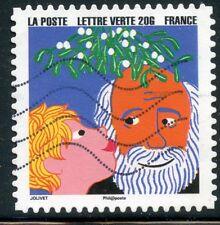 TIMBRE FRANCE  AUTOADHESIF OBLITERE N° 1201 / BONNE ANNEE / FETE DE FIN D'ANNEE