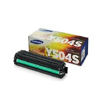 Genuine Samsung CLT Y504S Yellow Toner CLX4190 CLX4195