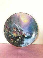 Falbrooke Cottage by Thomas Kinkade Collector's Plate