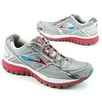 Brooks Womens Running Shoes Ghost 8th Edition Sz 11 Narrow (2A) Charcoal Rose