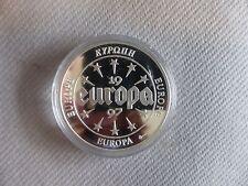 PIECE COMMEMORATIVE EUROPE IRLANDE EIRE 1997 AVEC CERTIFICAT GOLDINA P009846