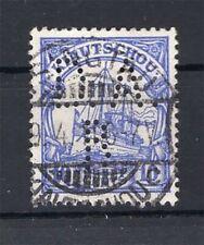 Kiautschou Firmenlochung Perfin Postmarked (A4284