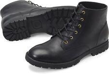 Men's Born Lace Up Comfortable Rugged Hollis Boot Black H56403