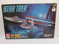 Amt Ertl 1:650 Star Trek Cut-Away Uss Enterprise Ncc-1701 Plastic Kit #8790U