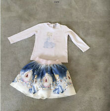 Monnalisa Cinderella Skirt And Top Age 2 Excellent CONDTION