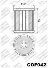 COF042 Filtro De Aceite CHAMPION YamahaWR250 F-N,P2502001>2002