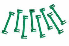 8 x Green Durable Trellis with Fence Ties Secure Plant Wire Weather Proof