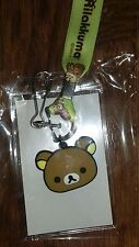 Rilakkuma lanyard - 2016 convention promo, licensed, brand new! San-X relax bear