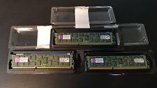 Kingston ValueRAM DDR3 12GB (3 x 4GB)  DIMM 240 - Registered 1333 MHz CL9 - 1.5V