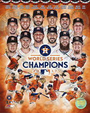 HOUSTON ASTROS WORLD SERIES CHAMPIONS LICENSED OFFICIAL 8X10 COMPOSITE PHOTO