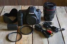 Canon Eos 6D 20.2Mp Digital Slr Camera 8035B002, with 24mm f/1.4L Lens