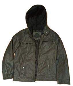 Urban Republic Faux Leather Jacket  10-14yrs
