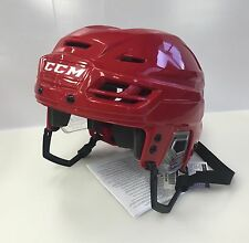 New CCM Resistance 100 NHL/AHL Pro Stock/Return small S ice hockey helmet red