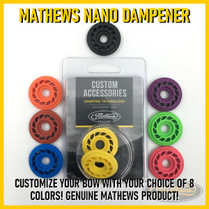 Mathews Rubber Dampener Ring, Nano Stabilizer - PICK A COLOR