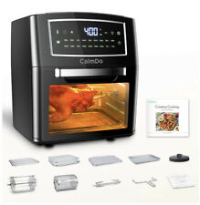 CalmDo Air Fryer Toaster Oven 12.7 Quarts, Convection, Dehydrate (READ)