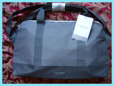 BRAND NEW CALVIN KLEIN BLACK HOLDALL SPORTS WEEKEND GYM FLIGHT TRAVEL DUFFLE BAG