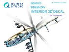 Quinta QD35020 Mi-24V 3D-Printed  coloured Interior for Trumpeter kit