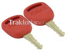C52345 Zwei Zündschlüssel für Traktor Steyr Profi Serie