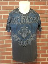 Affliction Signature Short Sleeve T-Shirt Georges St. Pierre Rush Mens Large MMA