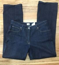 Women Armani Collection Jeans Antinea Size 12 Dark Denim Made in Italy