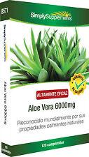 Aloe Vera 6000mg 120 Comprimidos