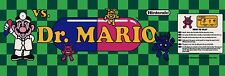 Dr Mario Video Game High Quality Metal Magnet 2 x 6 inches 9134
