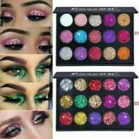 Shimmer Glitter Eye Shadow Powder Palette Matte Eyeshadow Cosmetic Make Up Tool