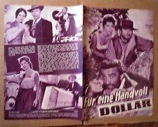 FISTFUL OF DOLLARS Austrian program 1965 Sergio Leone
