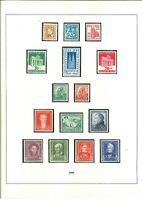 Luxus BRD Sammlung 1949-2000 postfrisch ** ohne Posthorn komplett - Mi. 5500,-