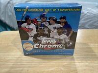 2020 Topps Baseball Chrome Update Series Blue Factory Sealed Mega Card Box