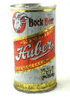 Huber Bock Beer Can Steel Bottom Opened 1970's Vintage Pre-owned Free Shipping
