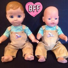 "17"" Dolls Clothes fits Luvabella  fits  Baby Born dolls .Dungarees Outfit."