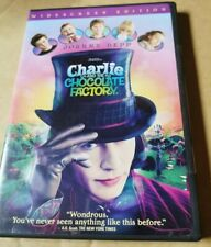 Charlie and the Chocolate Factory (DVD, Widescreen) Free Shipping