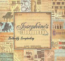 MUSIC Josephines 12X12 Scrapbooking Paper Pad 60 Sheet Paper Studio 1099647 NEW