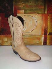 Laredo 7049 Western Men's Beige Boots Sz 9EE