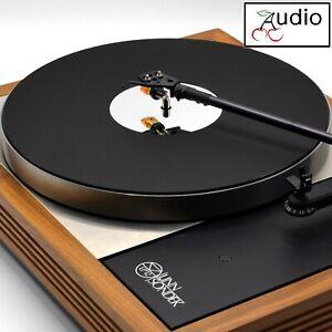 Classic Matt Black & Mirror Acrylic Turntable Platter Mat. Fits LINN!