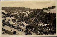 Jablonec nad Jizerou jablonetz S/W ak 1954 Krkonoše montes mirada al Valle