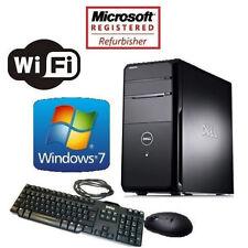 Dell Vostro 460 Quad Core i5 3.1GHz 16GB 256GB SSD HDD Win 7 PRO WiFi Desktop PC