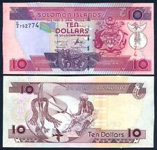 SOLOMON ISLANDS 10 Dollars 2006 UNC P 27 a